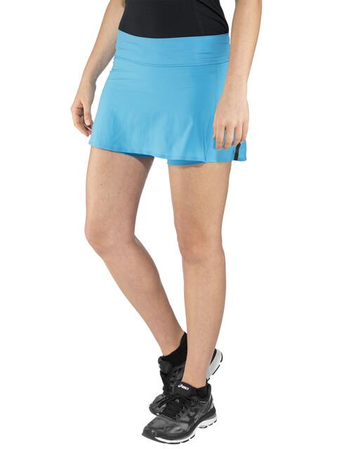 adidas TERREX Agravic - Pantalones cortos running Mujer - azul